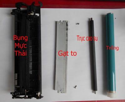 Đổ mực máy in tại nhà Nguyễn Văn Lộc