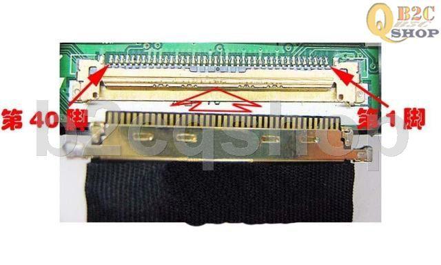 Sơ đồ chân cáp màn LCD Led 40 PIN